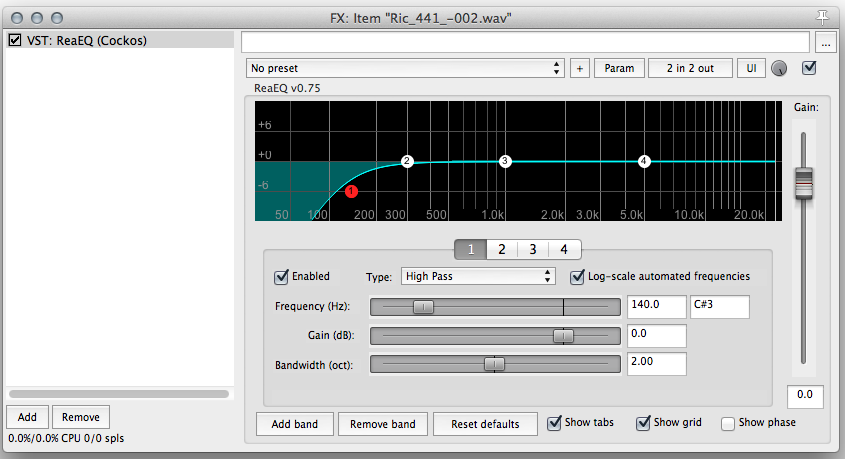How to remove vocal and dialog plosives | The REAPER Blog