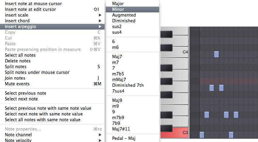 Midi Editor Powerup Instant Chords Scales And Arpeggios The