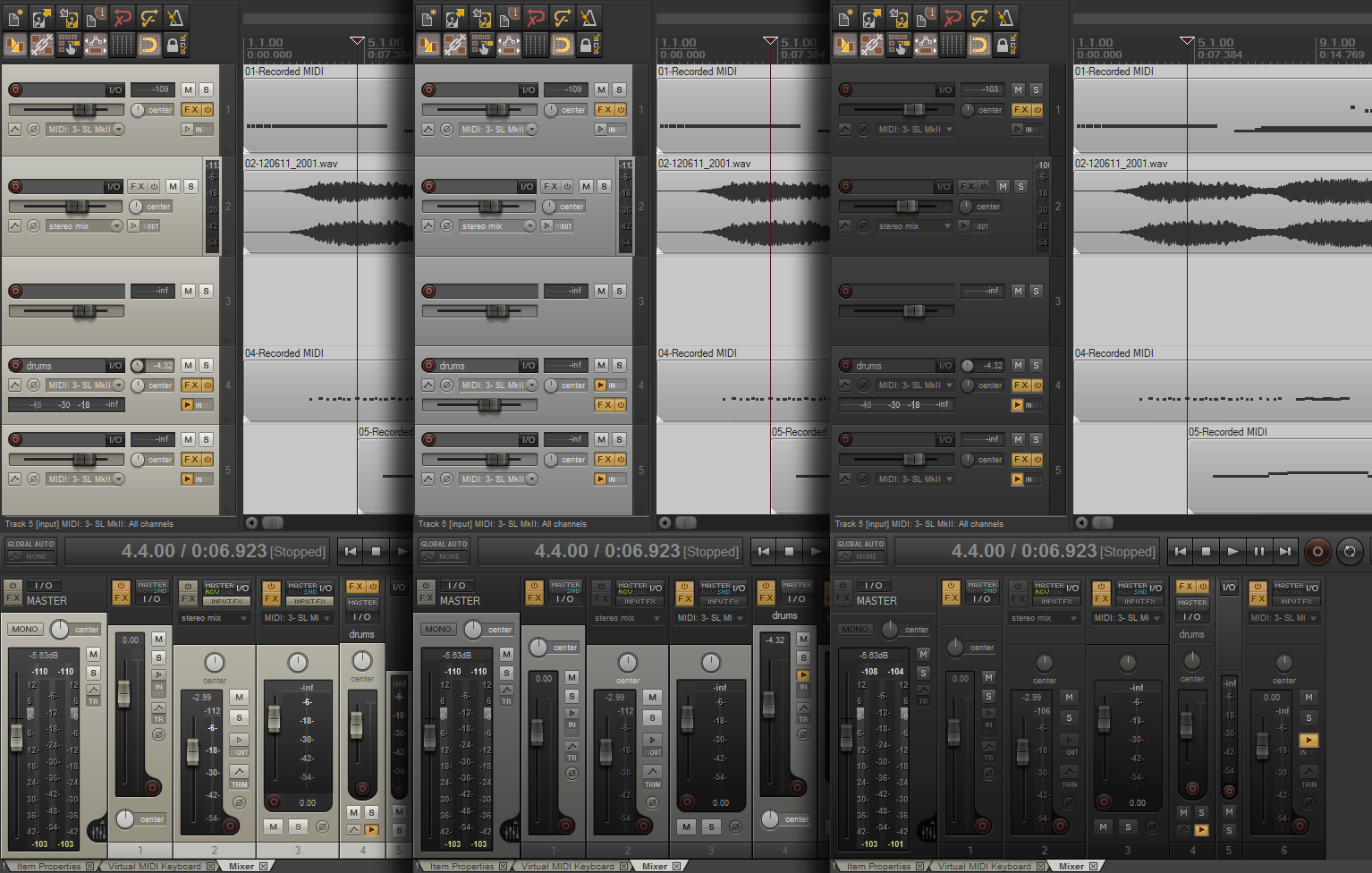 Cool theme 'Default Analog' by Lerian | The REAPER Blog