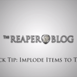Video Quick Tip: Implode Items to Takes