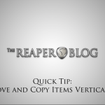 Quick Tip: Move and Copy Items Vertically