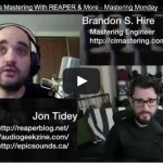 Mastering In REAPER Interview