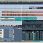 Eyssina is a new Cubase inspired theme for REAPER