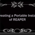REAPER Portable Install option