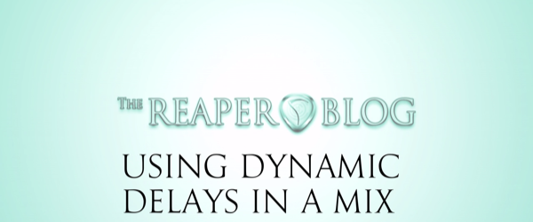 using dynamic delays in a mix